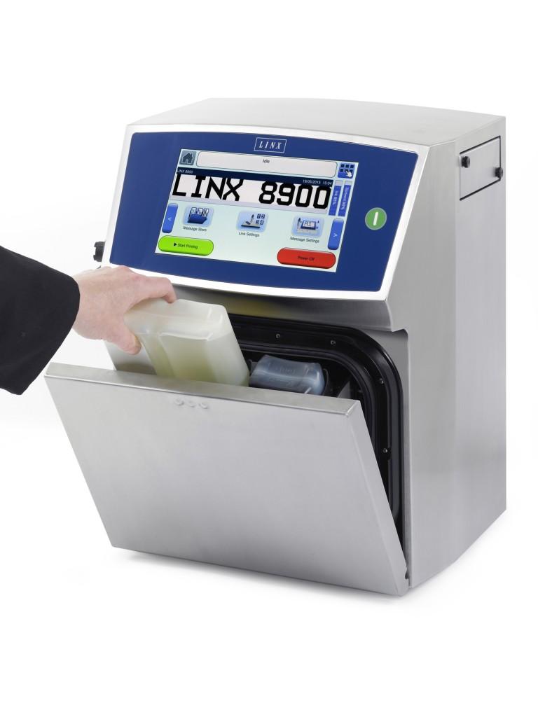 Impresora de Inyección de Tinta CIJ Linx 8900 y 8910