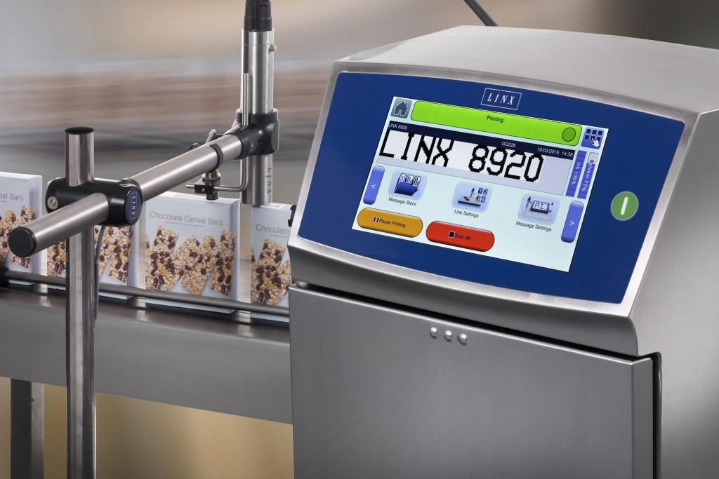 Impresora de Inyección de Tinta CIJ Linx 8920