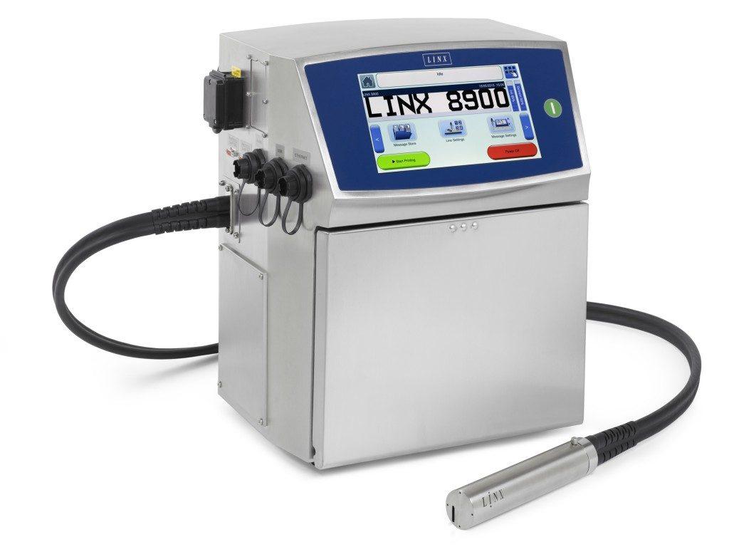 Impresoras de Inyección de Tinta Serie Linx 8900
